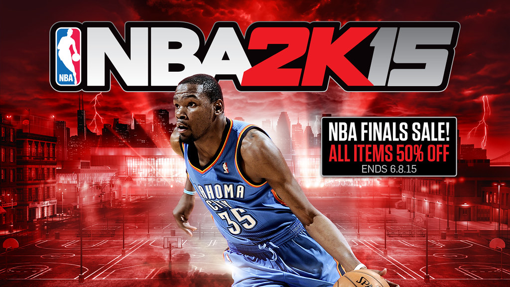 NBA 2K15 Finals Sale
