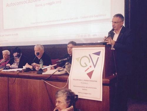 Fabrizio Pregliasco all'autoconvocazione del volontariato