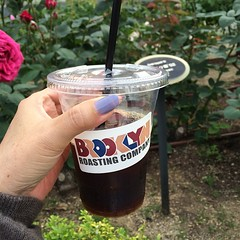 brooklyn roasting coldbrew @ nakanoshima rose park #nakanoshima #rose #coldbrew #brooklynroasting #kitahama #osaka #nofilter