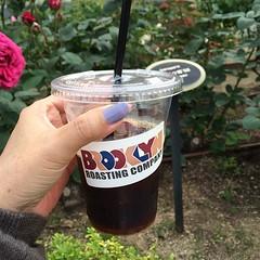 brooklyn roasting coldbrew @ nakanoshima rose park #nakanoshima #rose #coldbrew #brooklynroasting #kitahama #osaka #nofilter
