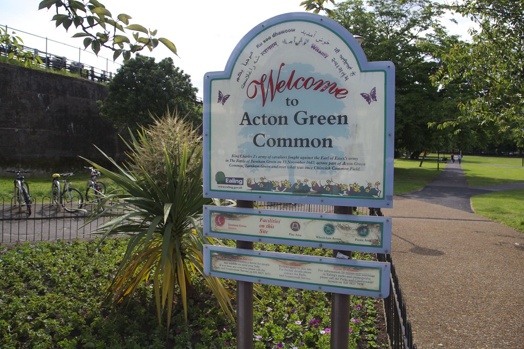 Acton Green Old Sign