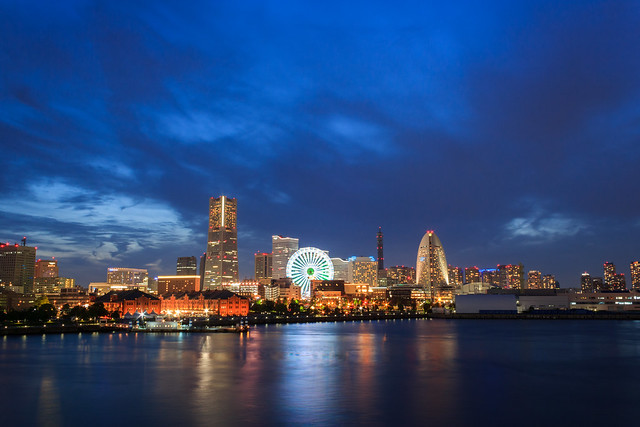 Nightscape of Yokohama