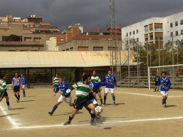U.E. Sants - F.C. Alcarràs (09/03/2008)
