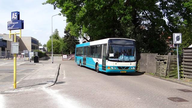 Harderwijk, Wright Arriva trein vervangende bus
