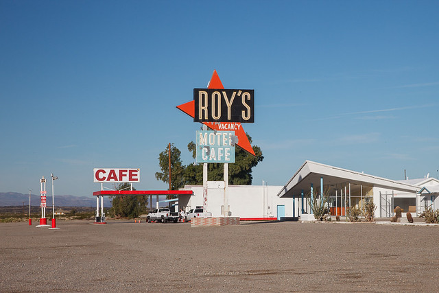Roy's Motel Cafe on Route 66