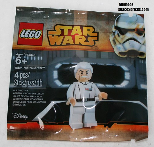 Lego Admiral Yularen p1