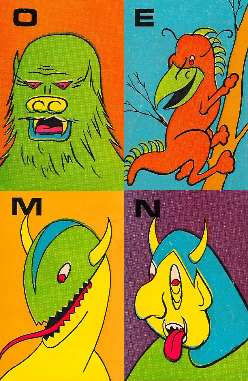 Monster Flip Cards - 8