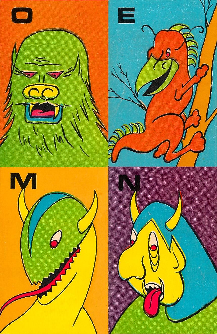 Monster Flip Cards - 8