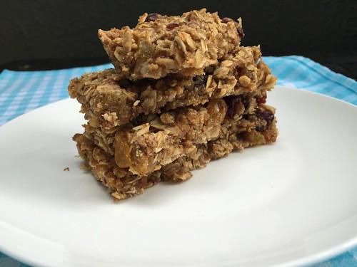 Healthy homemade granola bar recipe !