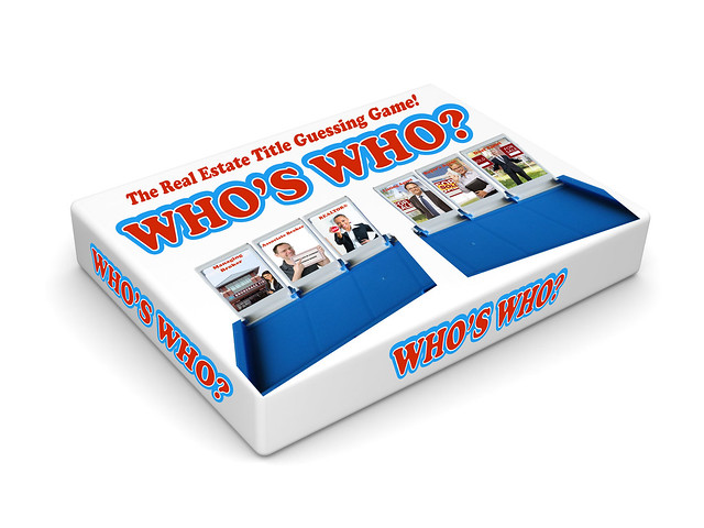 Who's Who Game Board