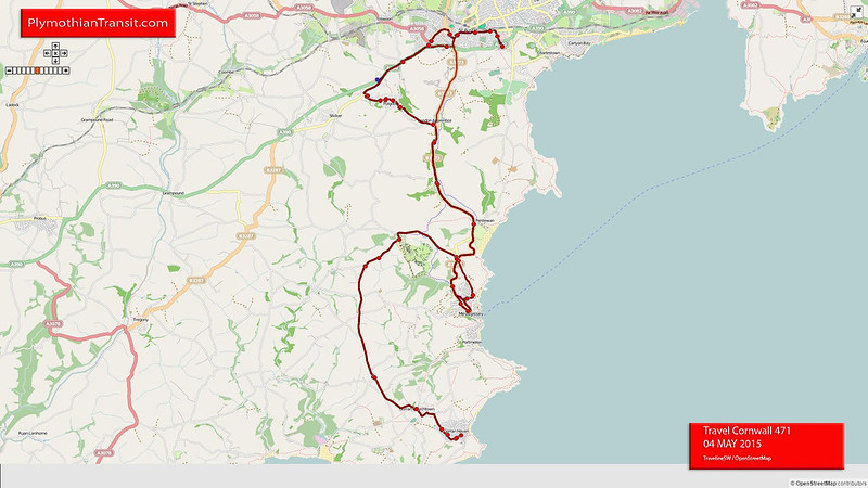 471: St Austell > Gorran Haven