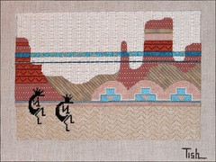 Hopi Horizon needlepoint