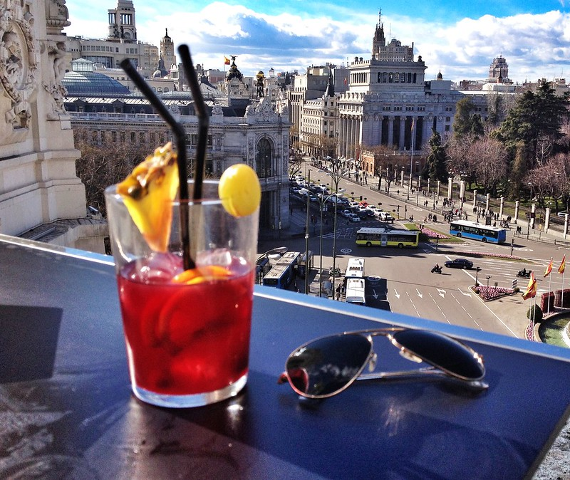 A must with only one day in Madrid: get a look at the city from above.