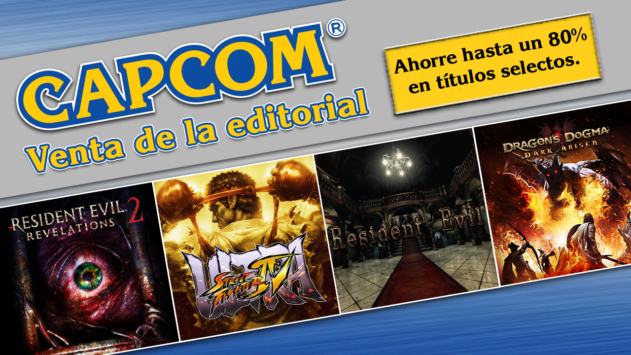 Capcom Publisher Sale