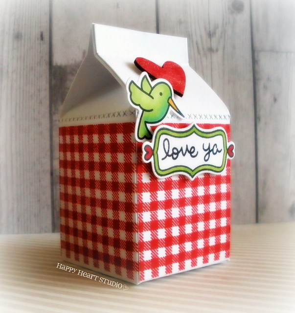gingham milk carton 5