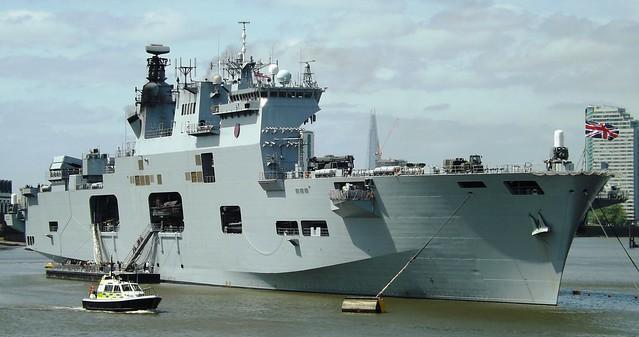 HMS Ocean L12 (5) @ Greenwich 10-05-15