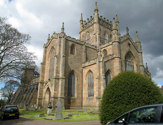 Dunfermline Abbey Church from South East