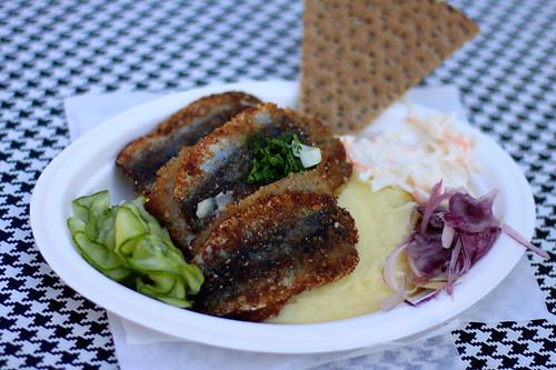 Fried herring @ Nystekt Strömming