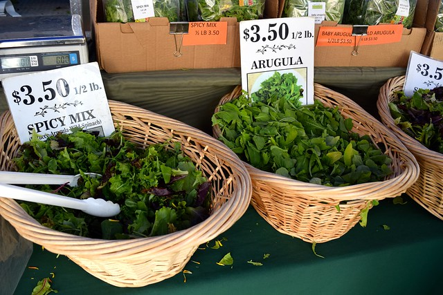 Mixed Leaves at Venice Beach Farmers Market