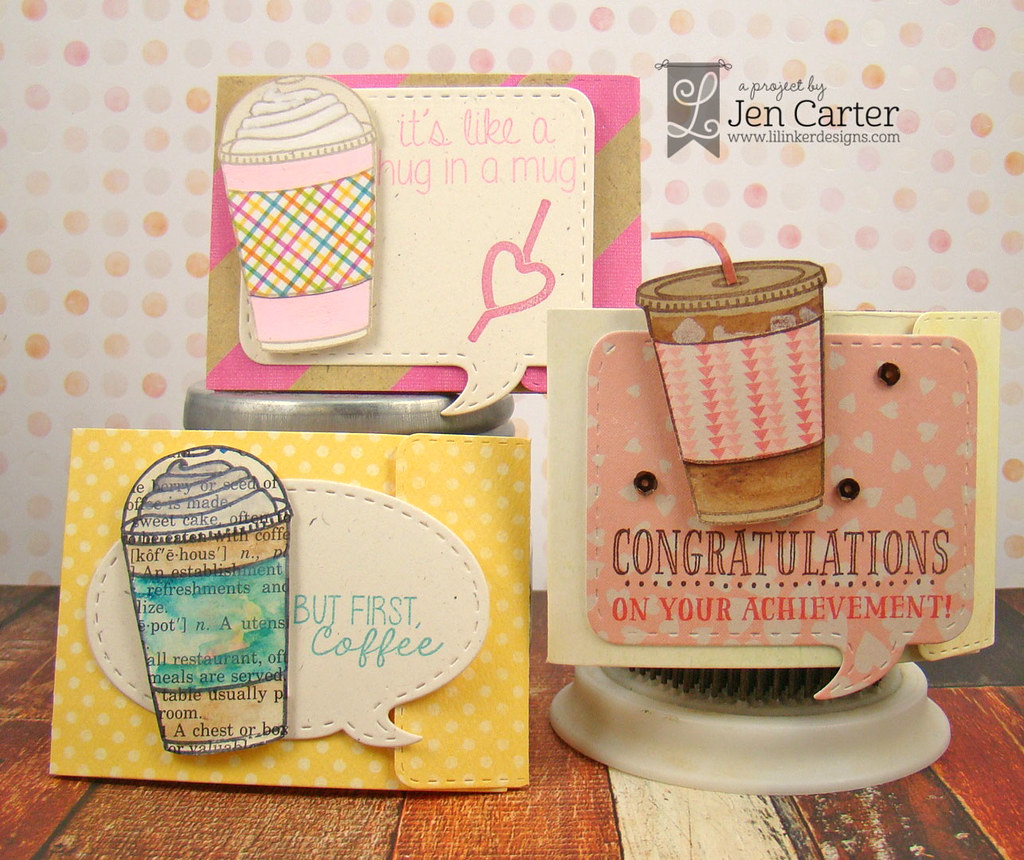 Jen Carter Iced Coffee Gift Card Holders Group 1 wm