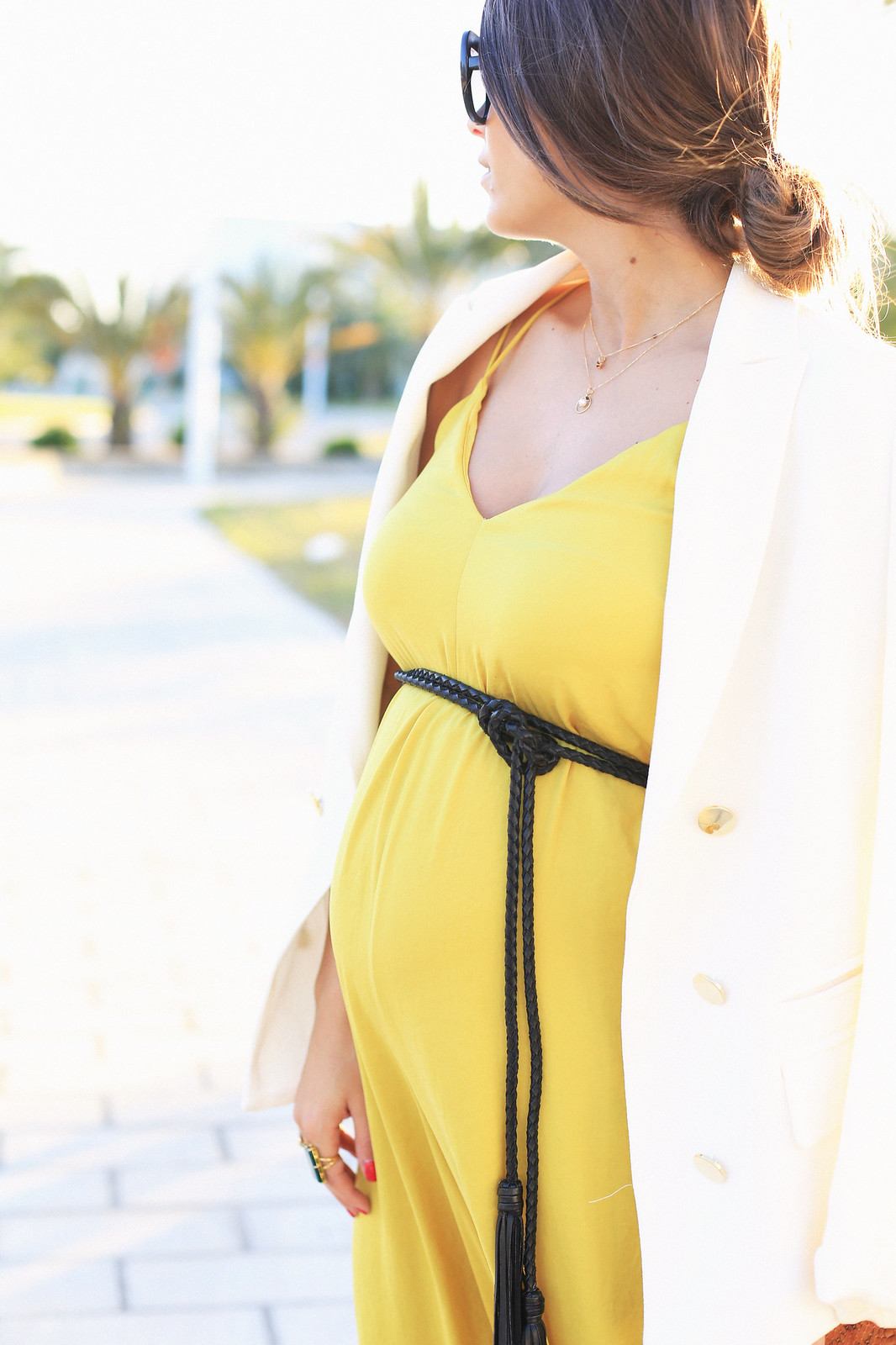 seams-for-a-desire-jessie-chanes-pregnant-outfit-mustard-long-jumpsuit-tous-jewels_10