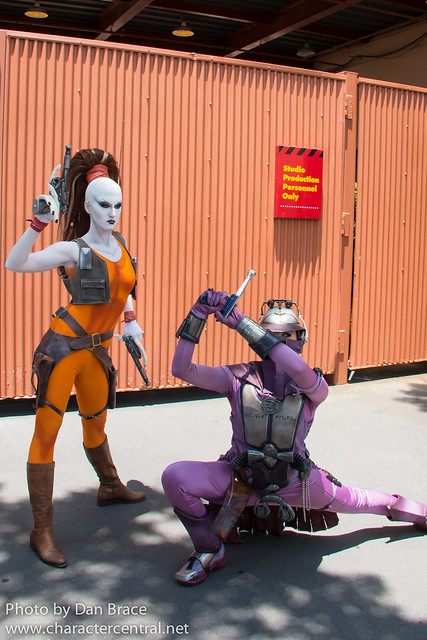 Aurra Sing and Zam Wesell