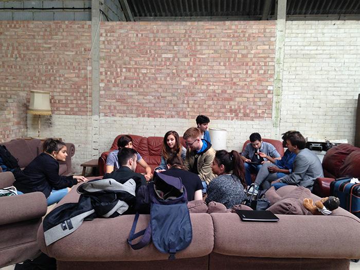 Filming preparation at Dean Valley Studios 4
