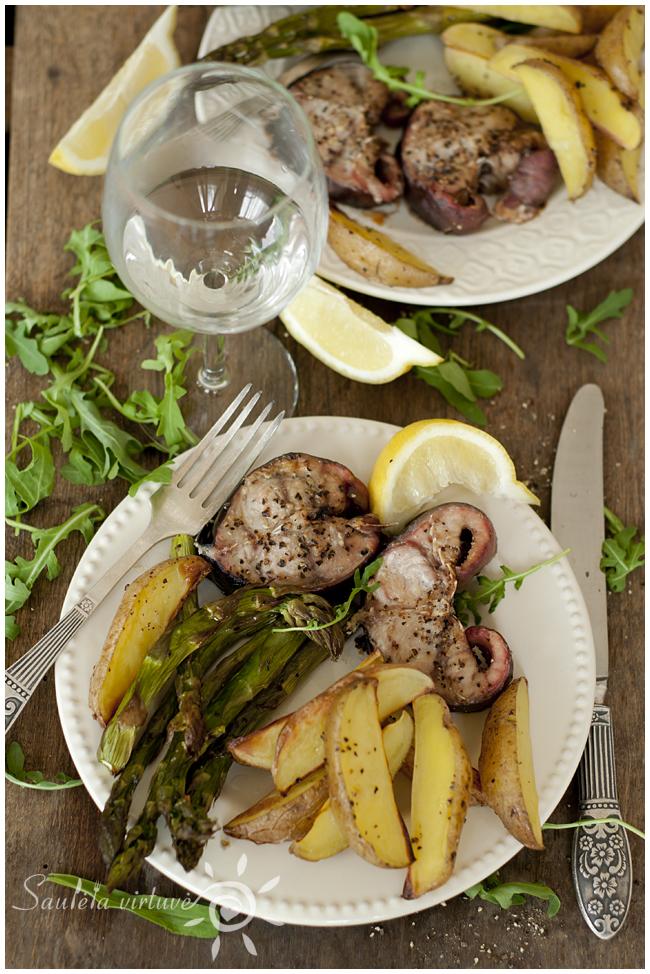 Šamas su smidrais ir bulvėmis (4)