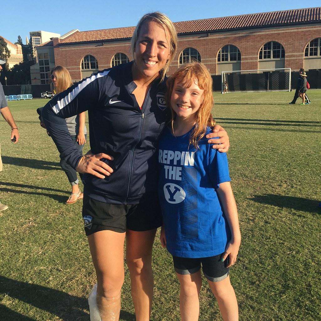 BYU Women's Soccer Goalie