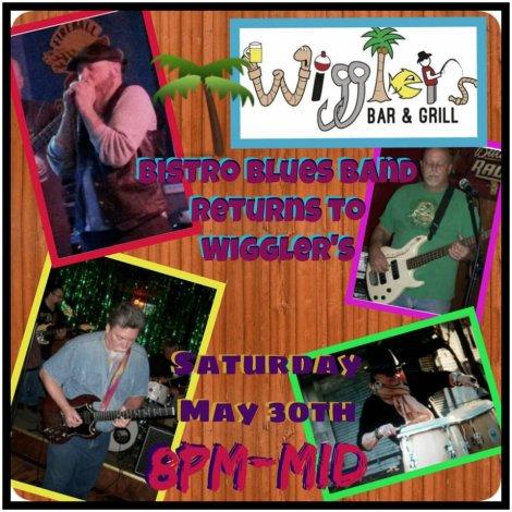 Bistro Blues Band 5-30-15