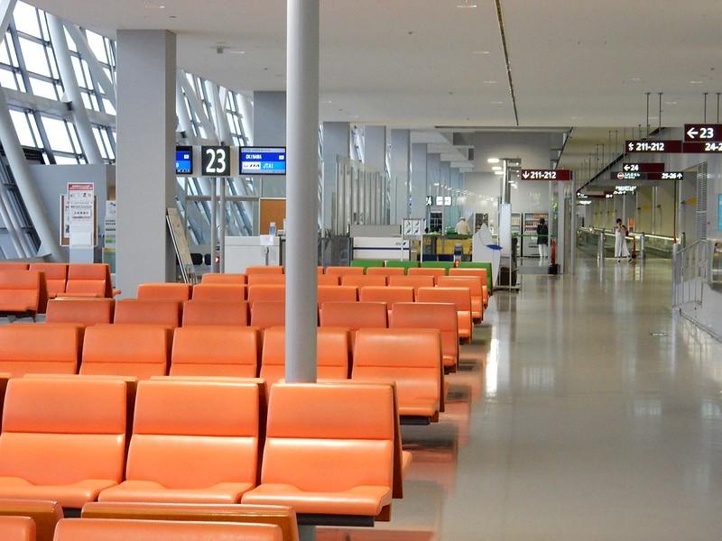関西空港 国内線 出発ゲート