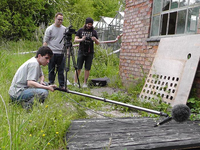 Filming at Dean Valley Studios 1