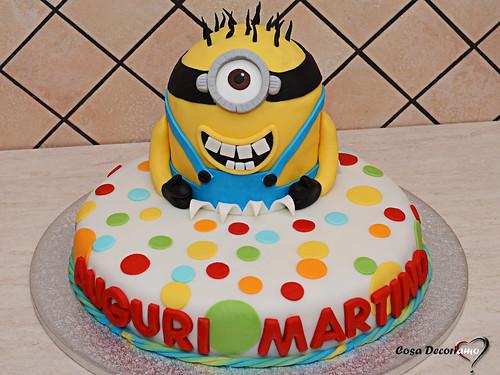 Torte - 103 - Torta Minion