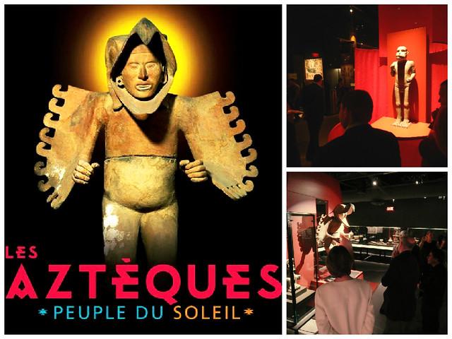 """Exposición """"Los Aztecas, el Pueblo del Sol"""", Montreal"""