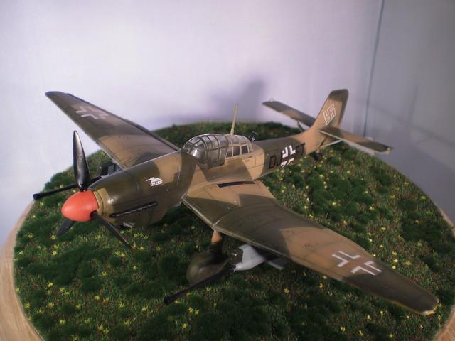 Ju-87 Stuka G-1 FUJUMI 1/72ème 17292354538_27da1f7614_z
