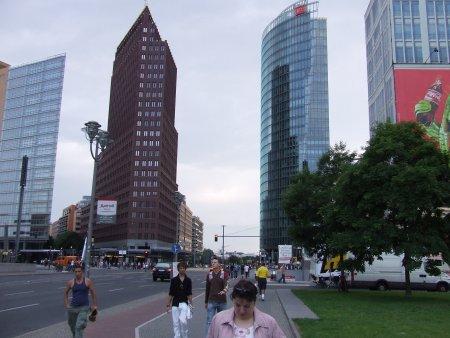 obiective turistice berlin Potsdamer platz