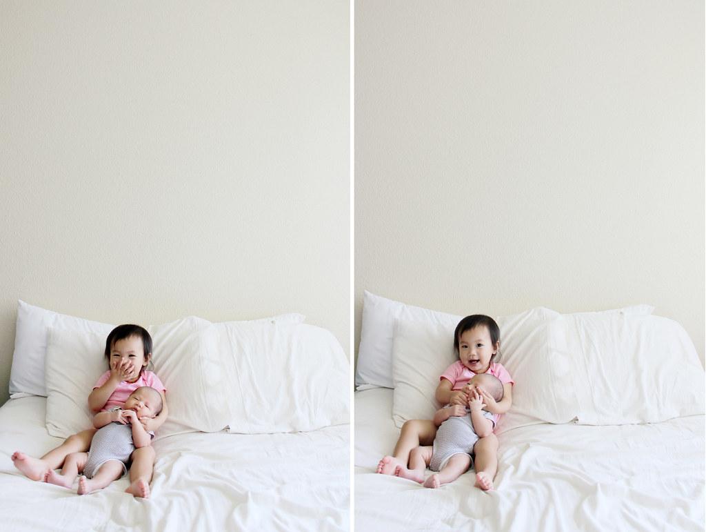 serene at 19 months and valor at 3 weeks