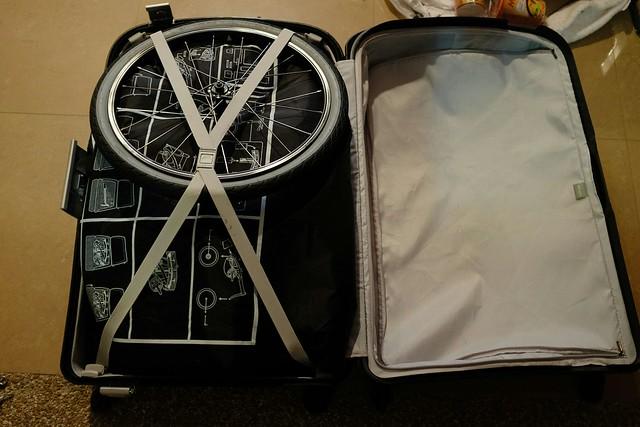 Packing the bike