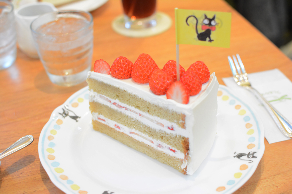 Strawberry shortcake au Straw Hat Café