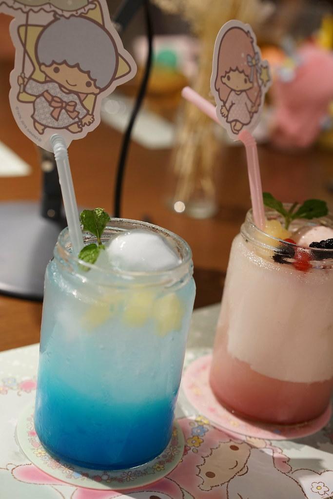 Kiki & Lala ❤ My Melody 40th annive12rsary cafe_