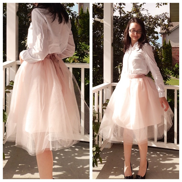 62cff3c020 Sew It Yourself: DIY Tulle Skirt - A Thing of Beauty