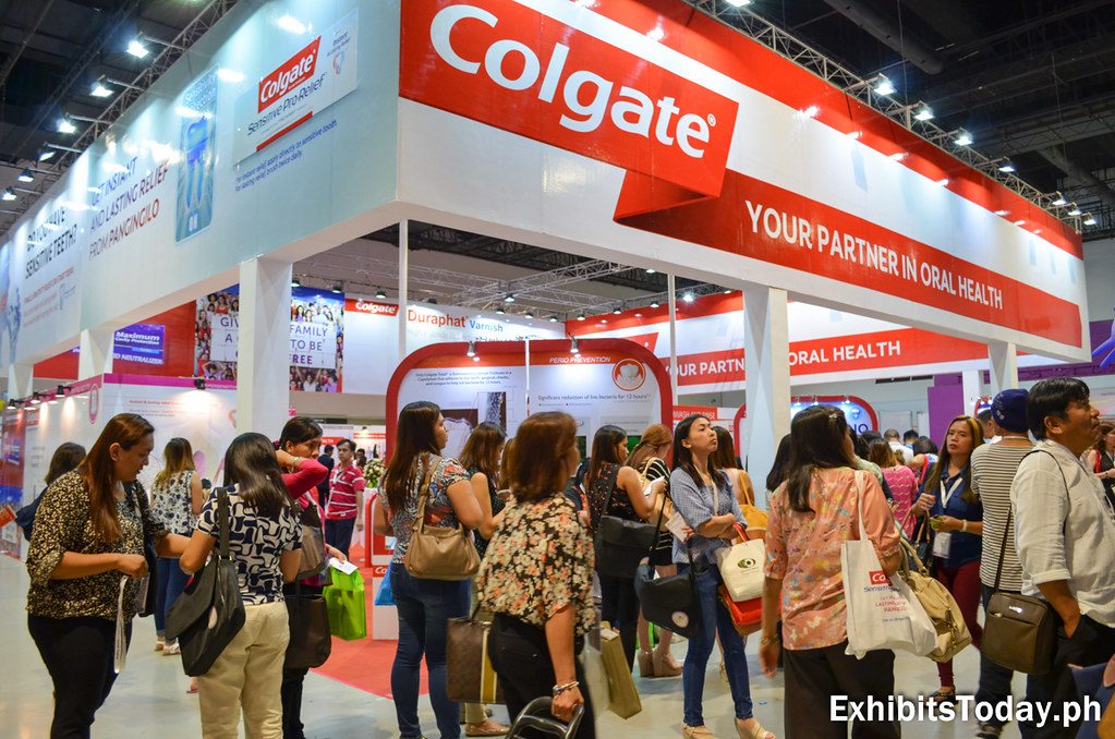 Colgate Trade Show Booth Display