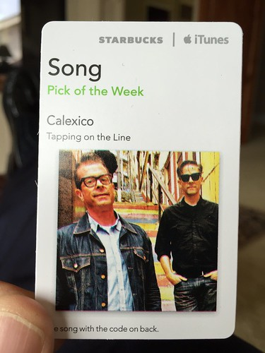 Starbucks iTunes Pick of the Week - Calexico - Tapping on the Line
