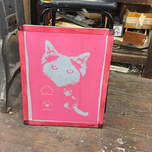 09.May.15 Screenprinting at Tooth and Nail