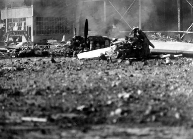 Ford Island Pearl Harbor Attack
