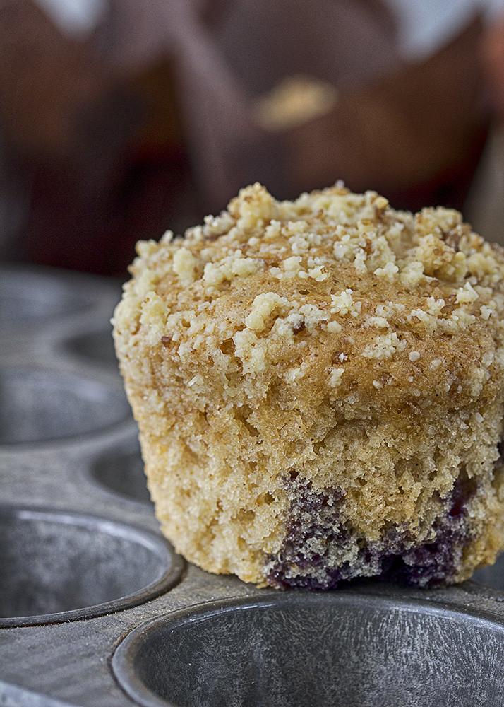 Receta muffins arándanos