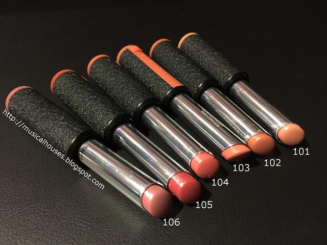 Givenchy Le Rouge A Porter Lipsticks Les Naturels