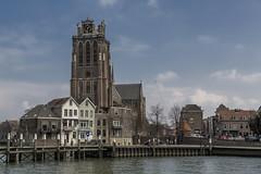 Grote kerk te Dordrecht.