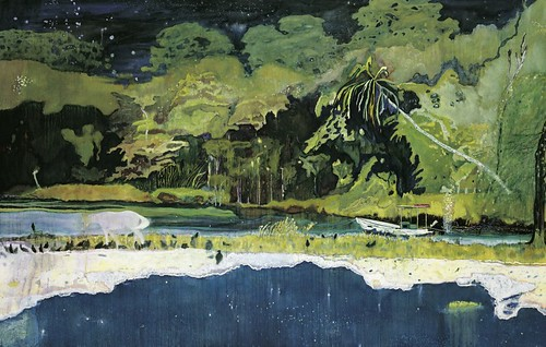 Peter Doig, Grand Riviere, 2002, Oil on paper