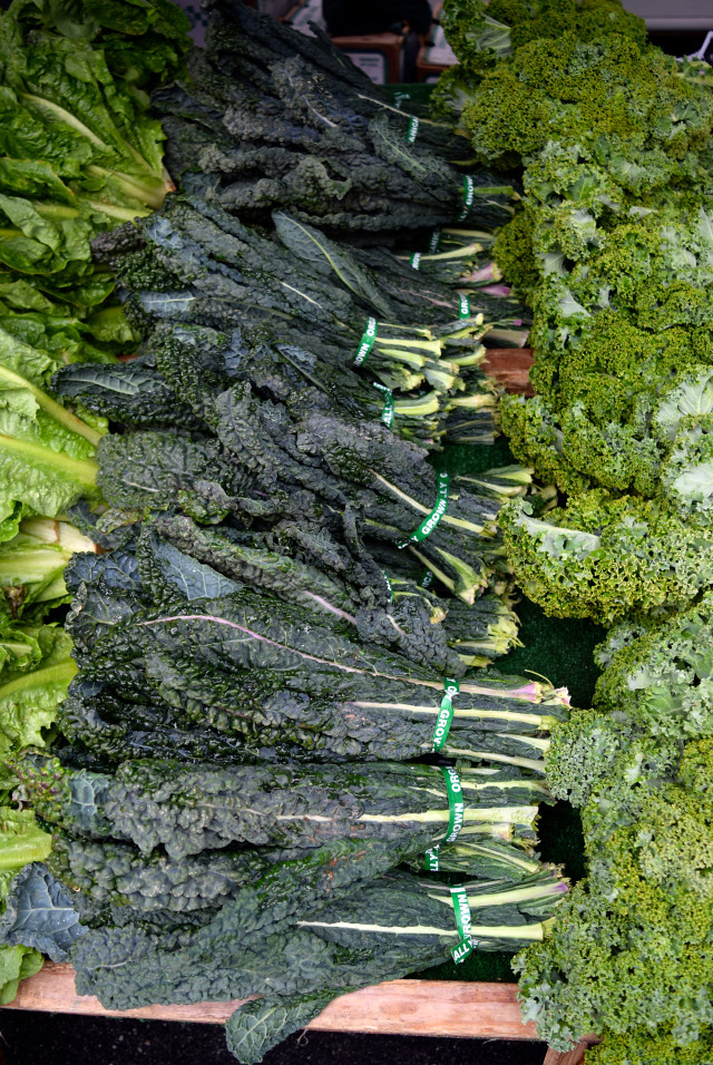Kale at Venice Beach Farmers Market